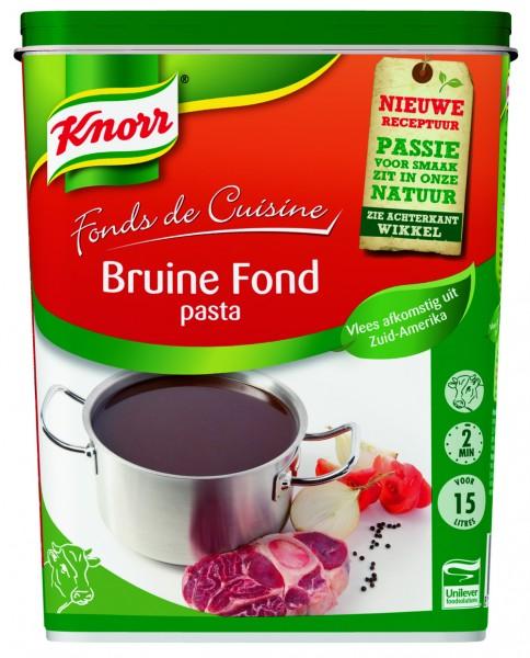 Bruine Fond Pasta 1kg Knorr Sauzen Producten Horeca